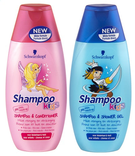 Schwarzkopf Kids Shampoo &Conditioner 250ml