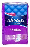 ALWAYS Maxi pads Long (18 No's)