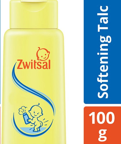 ZWITSAL bus talcum powder 100g * Enriched with oil