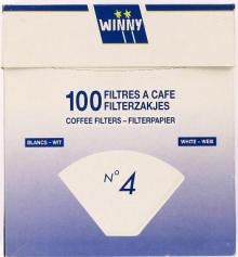 Winny coffee Filter bags white (100bags)
