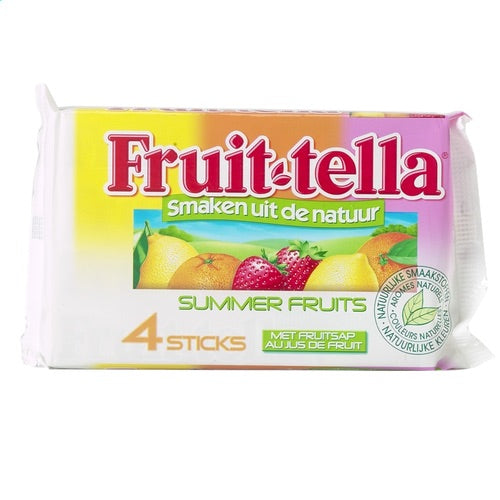 FRUIT-TELLA bonbons Summer fruit 4x41g