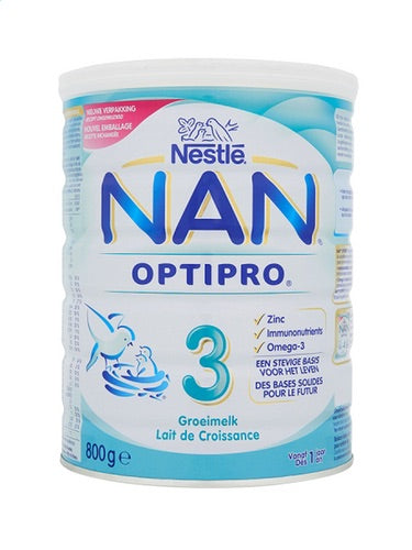 NESTLÉ NAN OPTIPRO growth milk 3 1+ 800g