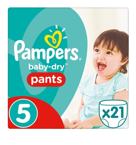 PAMPERS Pants 5 (12 to 18 kgs) 660g