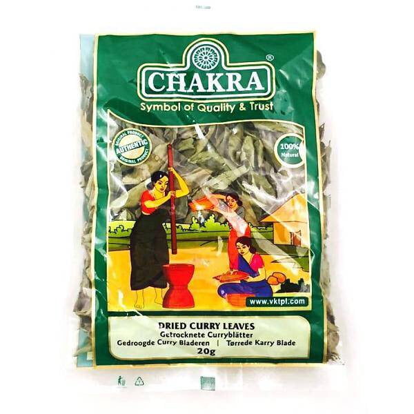 Chakra Dry curry Leaves 20g