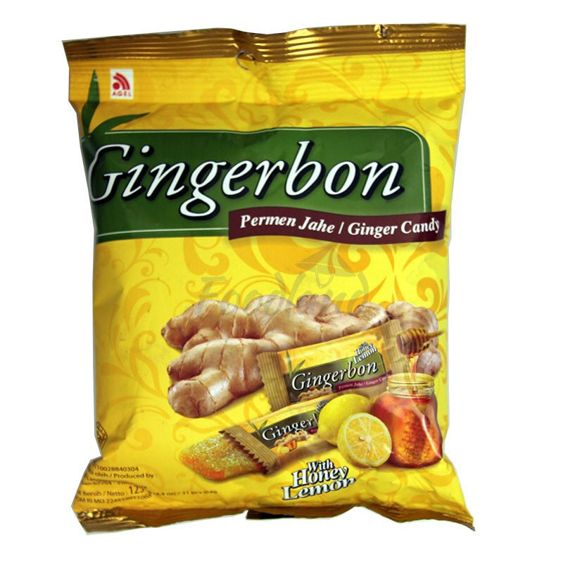 Gingerbon ginger candy with lemon 125g