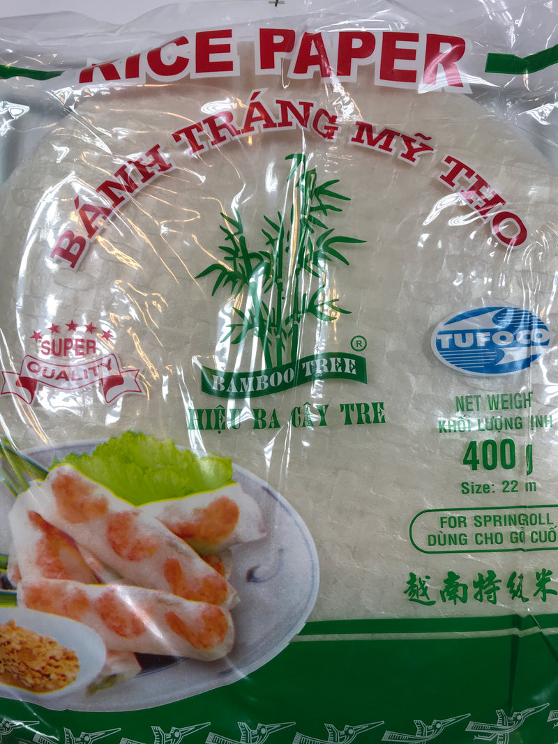 Bamboo Tree Rice paper 400g