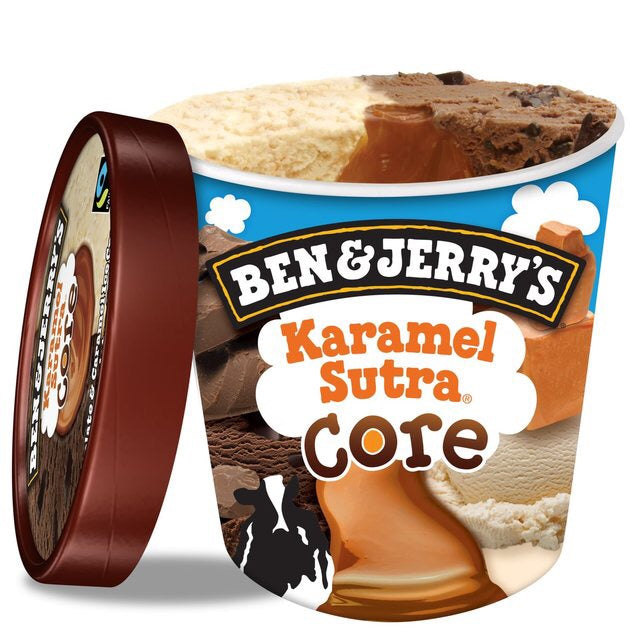 BEN & JERRY'S karamel sutra ice cream 500ml