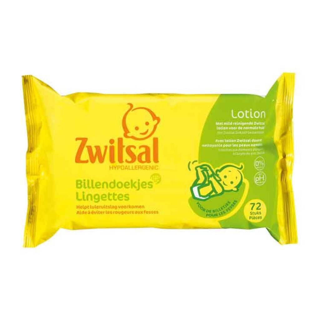 ZWITSAL Baby wipes (72 Pieces) 300g