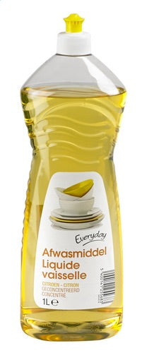 EVERYDAY dishwashing liquid lemon 1L