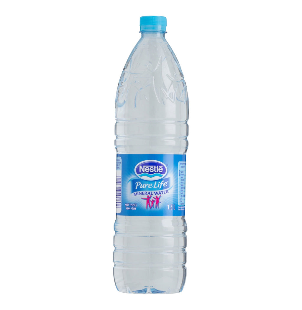 Nestle pure life natural mineral water 1.5L