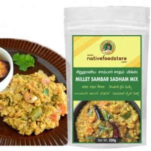 Nativefood store Millet Sambar Rice mix 200g