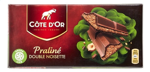 CÔTE D'OR tabl.pral.double noisette 200g