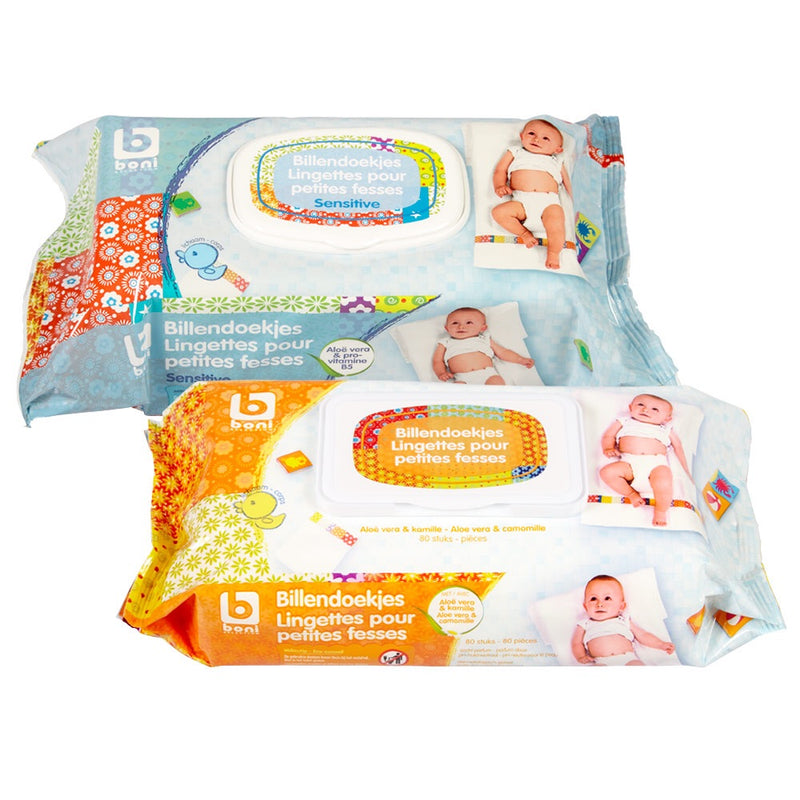 Boni selection Baby wipes (80 Pieces) 440g