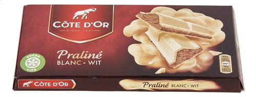 CÔTE D'OR praliné white 200g