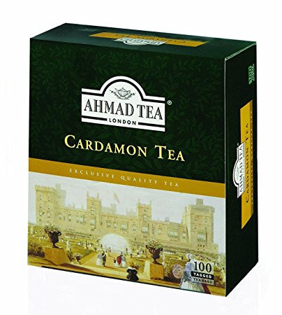 AHMAD Cardamom Tips Tea (100 Tea Bags)
