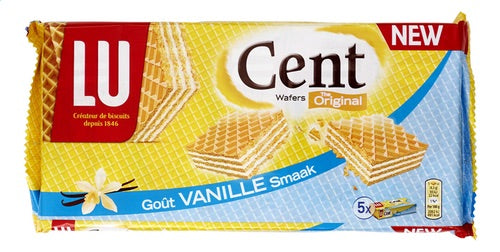 Lu cent wafers Vanille smaak 225g