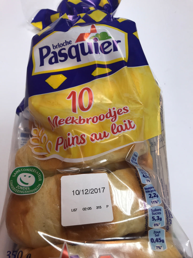 Pasquier milk bread 300g