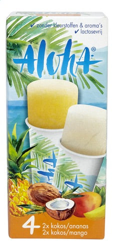 JACQUES Aloha water ice 4x105ml