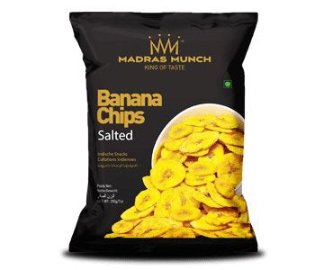 Madras Munch Banana Chips (salt)200g