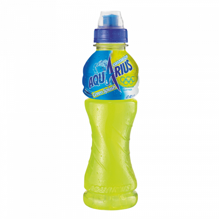 AQUARIUS Hydration Greensplash (cap) 500ml