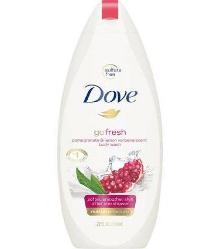 DOVE GO FRESH shower Pomegranate and Lemon 250ml