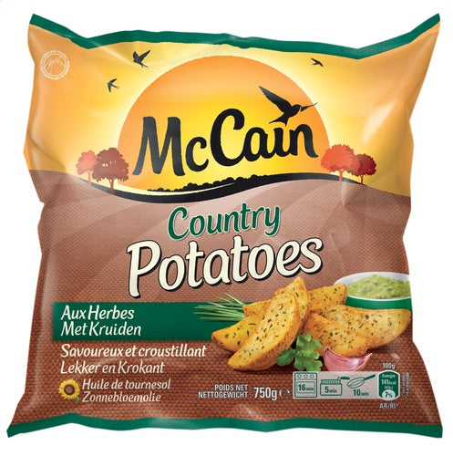 McCain country potatoes 750g