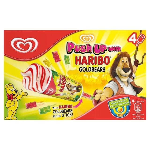 Ola push up with Haribo ice stick 53.5g