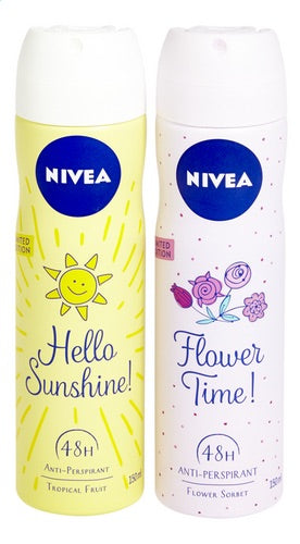Nivea Hello Sunshine (Tropical Fruit)150ml