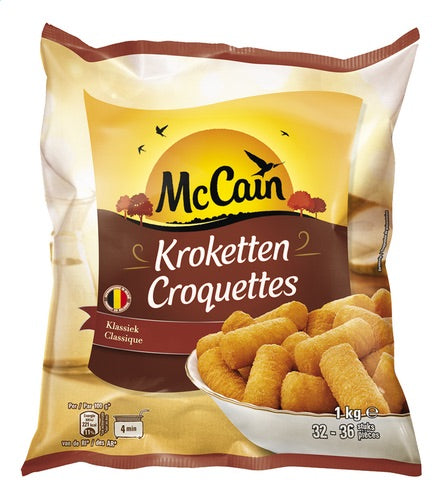 MCCAIN croquettes traditional 1kg