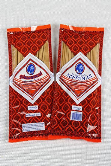 Noppamas Incense Sticks 8 Inches 150 Sticks Rose Scent