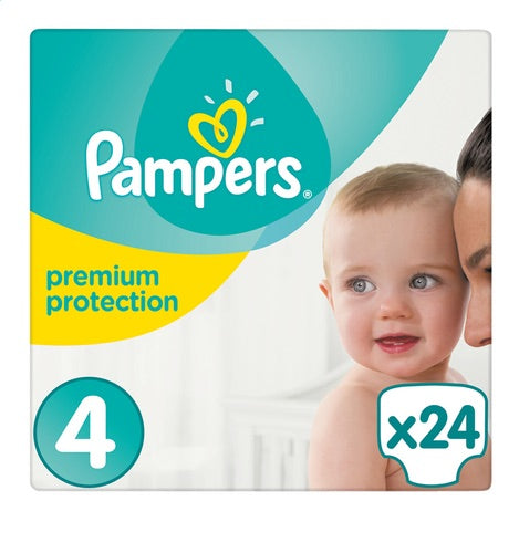 PAMPERS Premium Protection 4(8 to 16kg)