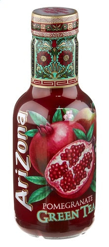 Arizona Petfles Green Tea Pomegranate 500ml