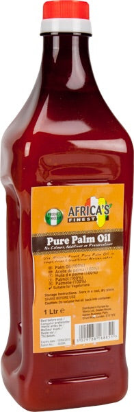 Africa's Finest Palm Oil 1L
