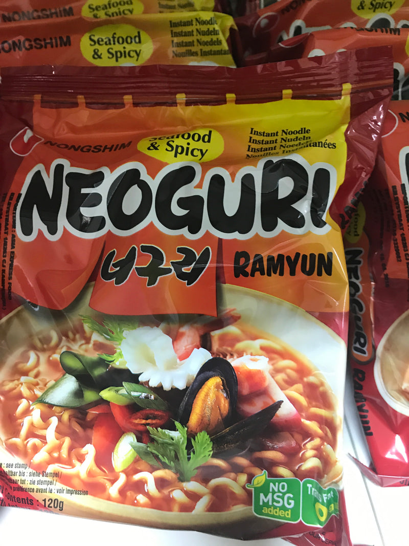 Nongshim seafood spicy
