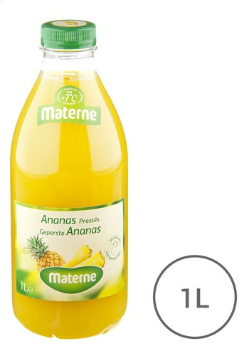 MATERNE fruit juice pineapple PET 1L