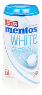 MENTOS White Always peppermint 30pcs 31 g