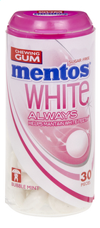 MENTOS Always White Bubblefresh 30pcs 31g