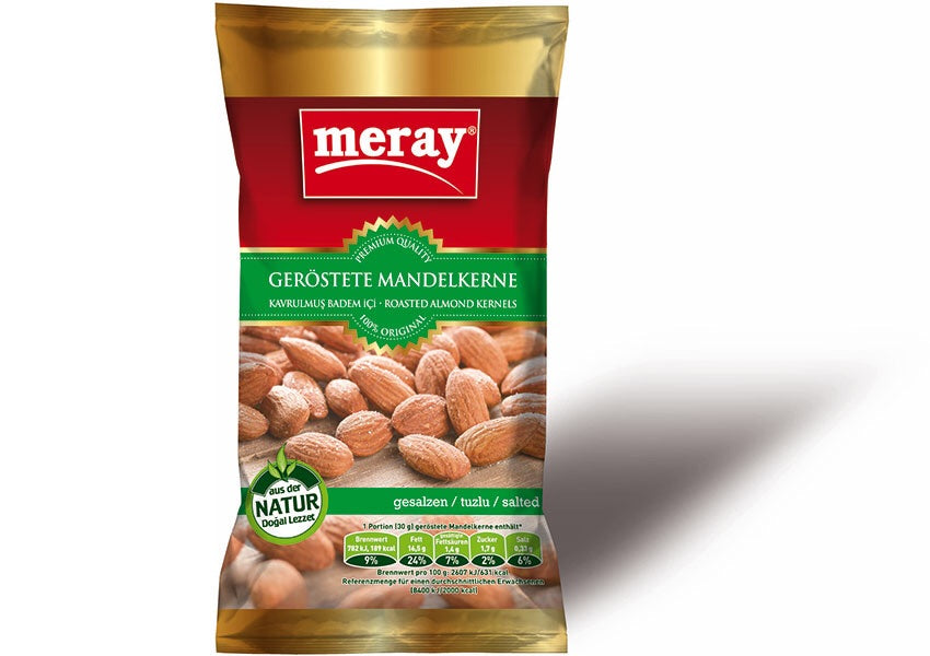 Meray Almond Roasted and salted 250g