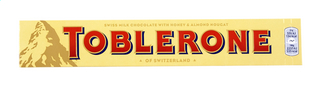 TOBLERONE milk honey nougat 100g