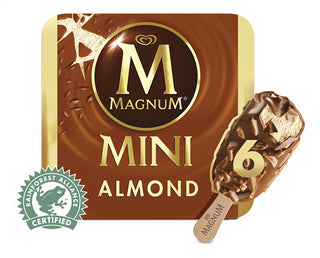 MAGNUM mini almond 6st 330ml