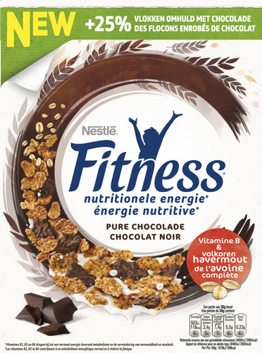 NESTLÉ FITNESS dark chocolate 375g