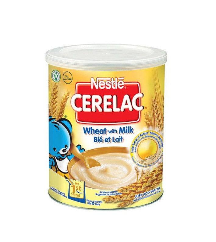 Nestle Cerelac Wheat Milk 400g