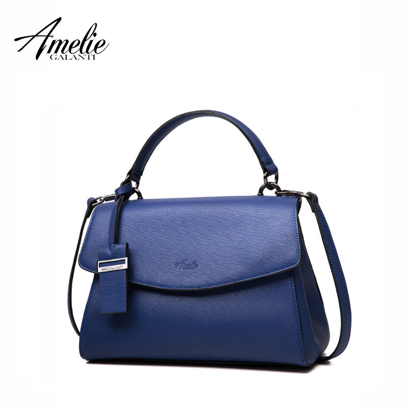 AMELIE GALANTI 2017 Women Messenger Bags Crossbody Solid High Quality PU Famous Brands Interior Zipper Pocket Back Pack Totes