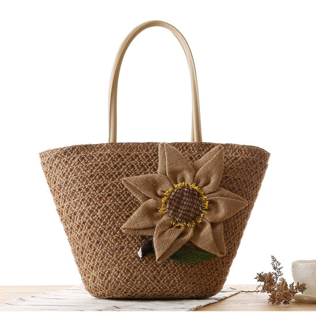 FLYING BIRDS beach bag women handbags Bohemian women travel bags straw bag summer style handbags bolsas women's bags A1084fb