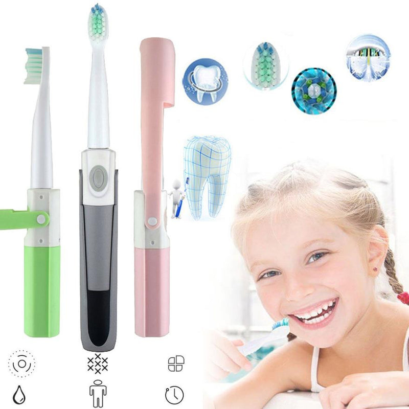 MINI Advance Powered Battery Operated Wireless Sonic Electric Toothbrush Oral Care