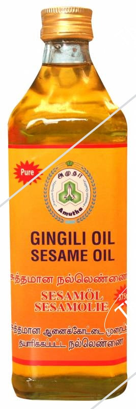 AMUTHA Sesame Gingili Oil 375ml