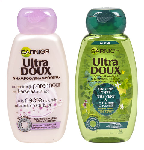 ULTRA DOUX shampoo pearl / 5plants 250ml