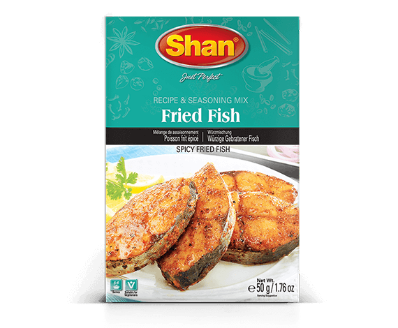 Shan Fried Fish Mix 50g
