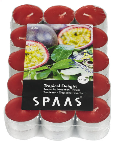 SPAAS tealight Tropical Delight 30 pieces
