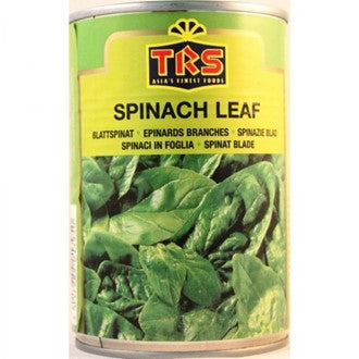 TRS Spinach Leaf tin 380g